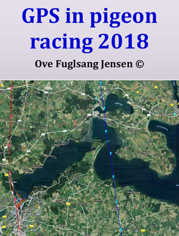 Gps in pigeon race 2018 by Ove Fuglsang Jensen